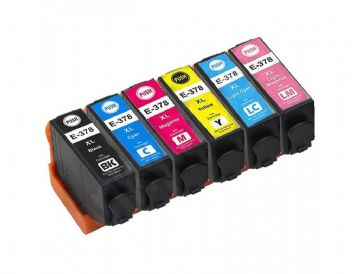 6 Colour Epson 378XL Squirrel  Ink Multipack - (C13T37984010)